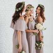 Neutrální odstíny nebo barevné? Stejný střih nebo každá jiný? Už v tom máte jasno? 😊 #svatba #svatba2019 #satyprodruzicky #druzicky #druzicka #svatebni #rozluckasesvobodou #zasnuby