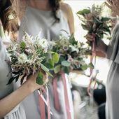 Už brzy vám představíme nové látky, ze kterých můžete vybírat 🤗 Tyhle oblíbené šedé šaty však u nás stále najdete 😊 #druzicky #satyprodruzicky #svatba #svatebni #svatebnikytice #druzickovani